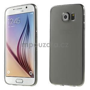 Ultra tenký obal na Samsung Galaxy S6 - šedý - 1