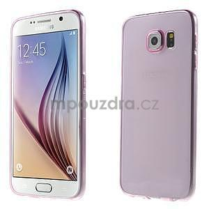 Ultra tenký obal na Samsung Galaxy S6 - rose - 1