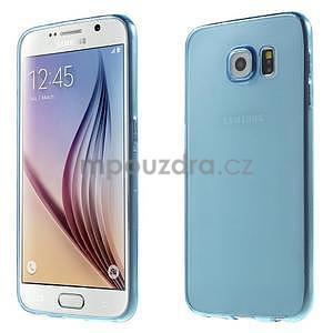 Ultra tenký obal pre Samsung Galaxy S6 - modrý - 1