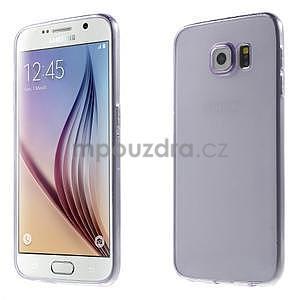 Ultra tenký obal na Samsung Galaxy S6 - fialový - 1