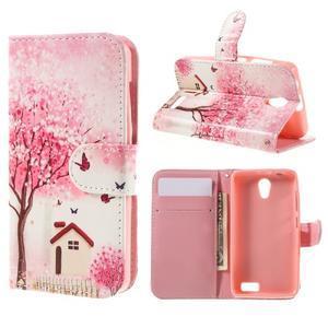 Styles peňaženkové puzdro pre mobil Lenovo A319 - domov - 1