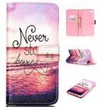 Style peňaženkové puzdro pre mobil Lenovo S90 - neprestávaj sniet - 1/7