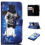 Style peňaženkové puzdro pre mobil Lenovo S90 - mops - 1/7