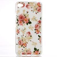 Glossy gelový obal na mobil Lenovo S90 - květiny - 1/3