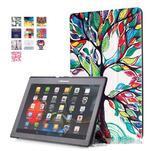 Polohovatelné pouzdro na tablet Lenovo Tab 2 A10-70 - malovaný strom - 1/7