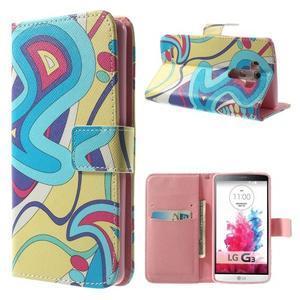 Obrázkové puzdro pre mobil LG G3 - kreace - 1