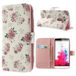 Ultra motive peněženkové pouzdro na LG G3 - květiny - 1/7
