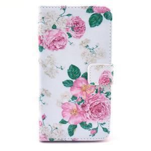 Obrázkové puzdro pre mobil LG G3 - kvetiny - 1