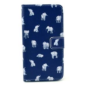 Obrázkové puzdro pre mobil LG G3 - sloníci - 1