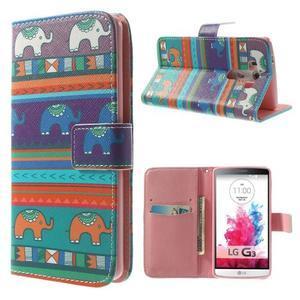 Obrázkové puzdro pre mobil LG G3 - tribal - 1