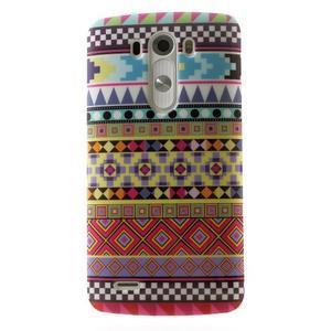 Gelový kryt na mobil LG G3 - vzory - 1