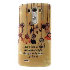 Gélový kryt pre mobil LG G3 - lapače snov - 1
