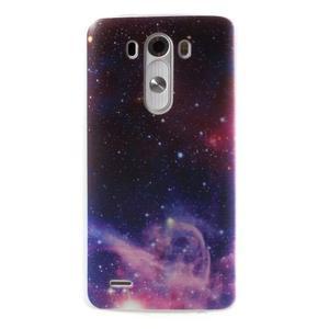 Silks gélový obal pre mobil LG G3 - galaxy - 1