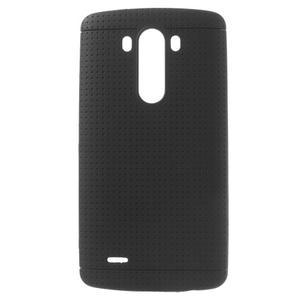 Silks gélový obal pre LG G3 - čierny - 1