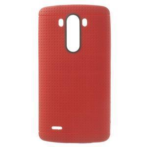 Silks gélový obal pre LG G3 - červený - 1