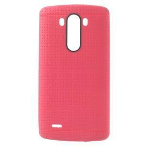 Silks gelový obal na LG G3 - rose - 1