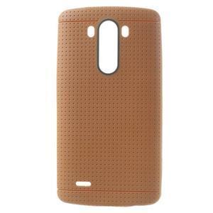 Silks gélový obal pre LG G3 - oranžový - 1