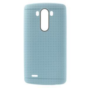 Silks gélový obal pre LG G3 - svetlomodrý - 1