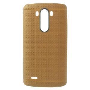Silks gélový obal pre LG G3 - hnedý - 1