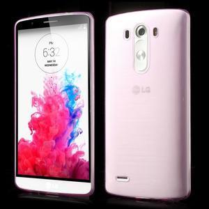 Ultratenký slim obal na mobil LG G3 - rose - 1