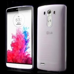 Ultratenký slim obal pre mobil LG G3 - fialový - 1