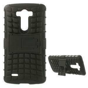 Outdoor odolný obal na mobil LG G3 - černý - 1