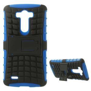 Outdoor odolný obal na mobil LG G3 - modrý - 1