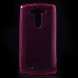 Rose ochranný gélový kryt LG G3 s - 1