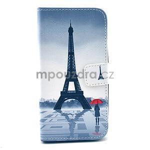 Peňaženkové puzdro na LG G3 s -  Eiffelova veža - 1