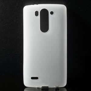 Transparentní matný gélový kryt LG G3 s - 1
