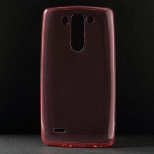 Ultra tenký slimový obal LG G3 s - červený - 1