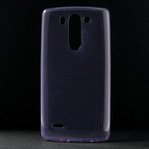 Ultra tenký slimový obal LG G3 s - fialový - 1