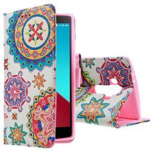 Call peněženkové pouzdro na LG G4 - kaleidoskop - 1