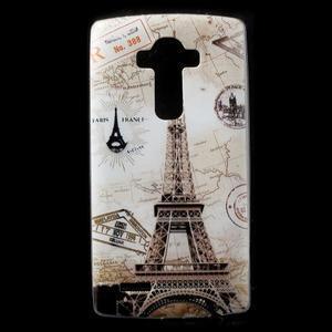 Softy gelový obal na mobil LG G4 - Eiffelova věž - 1