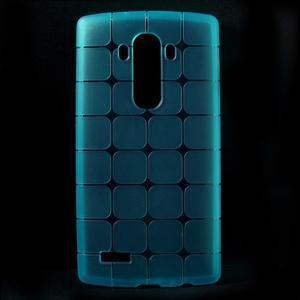 Square gelový obal na LG G4 - modrý - 1
