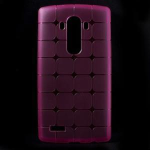 Square gelový obal na LG G4 - rose - 1