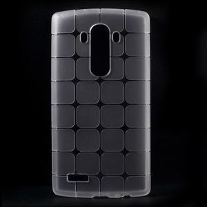 Square gélový obal pre LG G4 - biely - 1