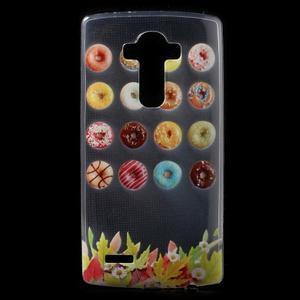 Softy gélový obal pre mobil LG G4 - donuts - 1