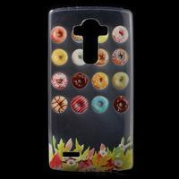 Softy gélový obal pre mobil LG G4 - donuts - 1/5
