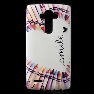 Softy gelový obal na mobil LG G4 - smile - 1