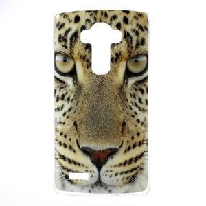 Jells gélový obal pre mobil LG G4 - leopard - 1