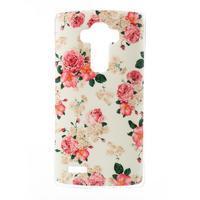 Jells gelový obal na mobil LG G4 - květiny - 1/5