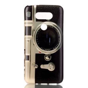 Gélový obal pre mobil LG G5 - retro foťák - 1