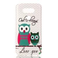 Gélový obal pre mobil LG G5 - malej sovy - 1/3