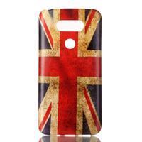 Gélový obal pre mobil LG G5 - UK vlajka - 1/3