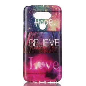 Gélový obal pre mobil LG G5 - hope - 1