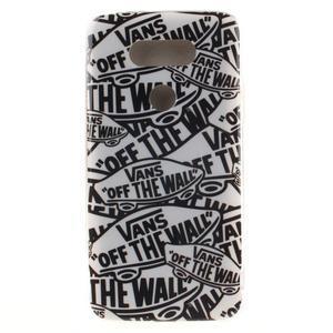 Softy gélový obal pre mobil LG G5 - slova - 1