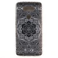 Softy gelový obal na mobil LG G5 - retro květina - 1/6
