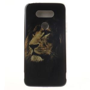 Softy gelový obal na mobil LG G5 - lev - 1