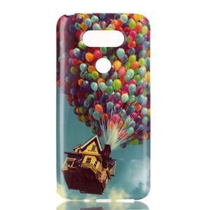 Gélový obal pre mobil LG G5 - vznášajúce sa balónky - 1